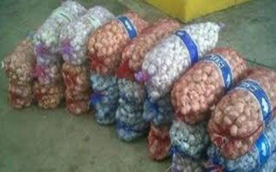 Ministerio de Defensa incauta 12 toneladas de ajo