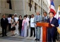 Embajador de la República de Corea, reinaugura sala en Faro a Colon