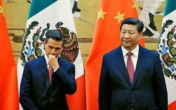 China suspende inversiones en México