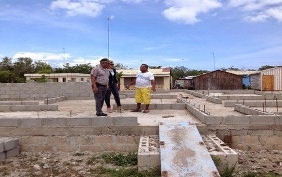 Construye destacamento en Isla Saona.