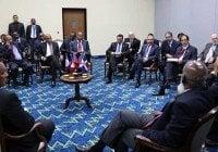 Presidentes del Caribe se reúnen con Medina