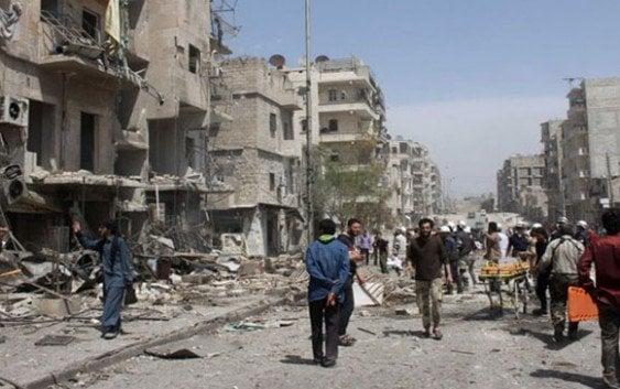 Cohetes en Alepo dejan 5 muertes y alrededor 25 heridos