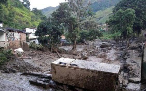 Mas de 60 muertos produce avalancha en colombia