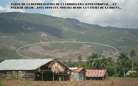 Fijan audiencia extracción materiales Cordillera Septentrional