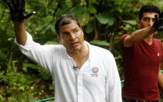 Correa invita a Brad Pitt conocer «la verdad» juicio contra Chevron