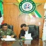 Ejército y Desarrollo Fronterizo firman acuerdo