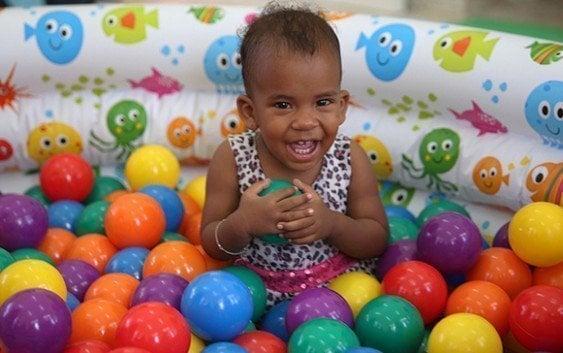 Más de 800 niños del Cibao en estancias infantiles