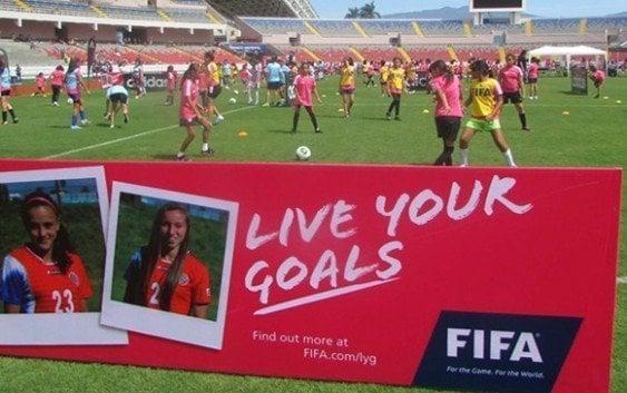 FIFA lanzó «Live Yours Goals» (Vive Tus Metas)