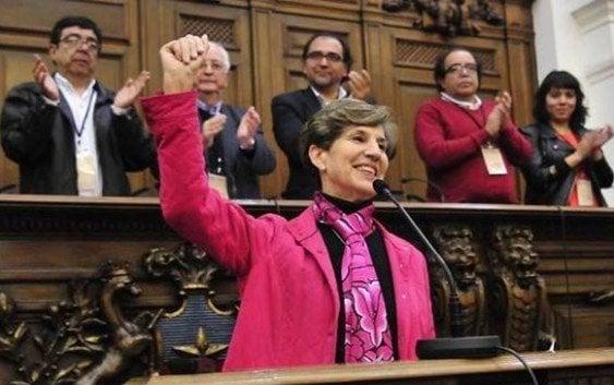 Isabel Allende primera mujer presidenta del Partido Socialista