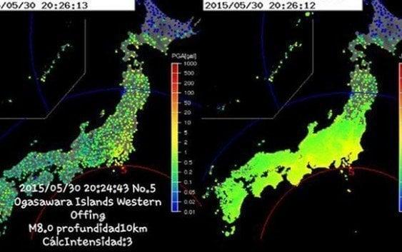 Terremoto de magnitud 7,8 extremece las islas Ogasawara en Japón