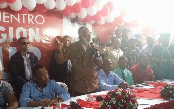 Lanza rayos y centellas contra el ex presidente Leonel Fernández