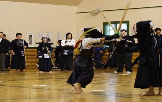 Competencia de kendo dedicada natalicio póstumo de Seiji Kasahara