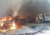 Confirman un federal y 42 miembros del CJNG muertos en Michoacán