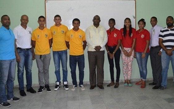 Inefi presenta selecciones irán a Mundial de Voleibol Playero