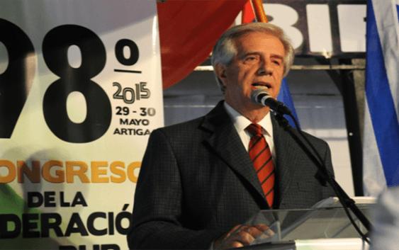 Tabaré Vázquez llama gobernar el agua como un bien estratégico