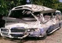 Hasta el momento once muertos en accidente