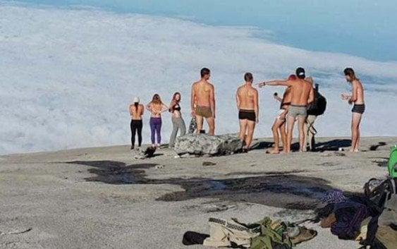 Arrestan cuatro turistas acusados causar terremoto