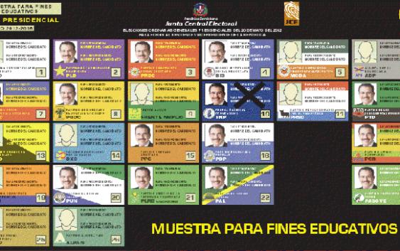 PRD llevará a Danilo Medina en la casilla numero uno