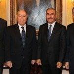 Presidente recibe al canciller de Brasil, Mauro Vieira