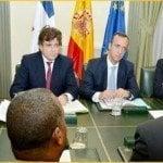 Canciller comparte con homologo español pasos crear Instituto Exterior