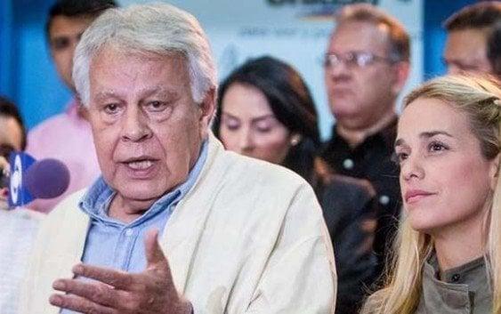 Dictadura impide Felipe González ver presos políticos; Abandona Venezuela
