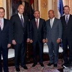 Presidente recibe a ejecutivos de General Electric