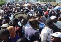 Haitianos no pararan hasta que apresen corruptos de Petrocaribe; Acusan a Jovenel Moise