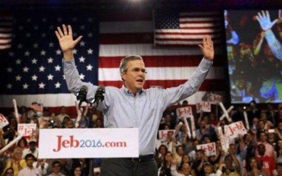 Jeff Bush considera que Donald Trump no es un candidato serio