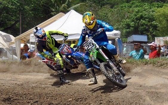 Durán y Brito ganan en motocross