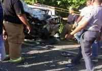 Accidente deja seis muertos esta madrugada