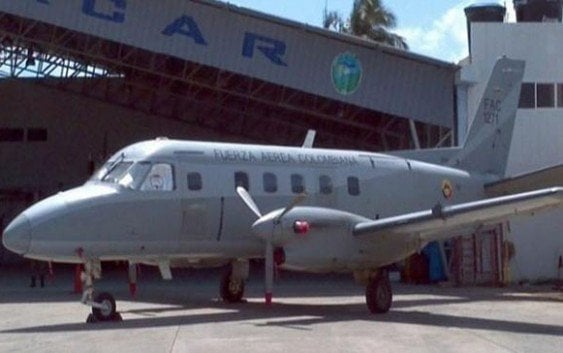 Se estrella avión Fuerza Aérea Colombia; mueren 11 militares