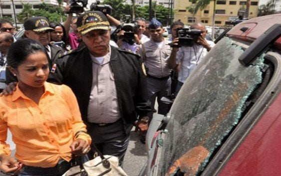 Vehículo de periodista fue baleado por coincidencia