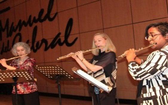 "Facultad de Artes inaugura ""Festival de Flauta con Recital"""