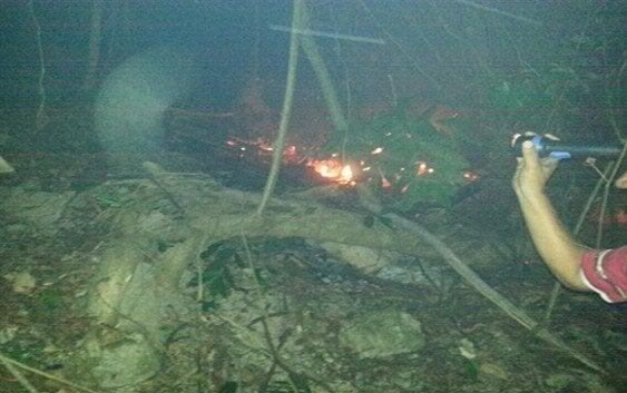 Medio Ambiente extingue incendio loma Isabel de Torres