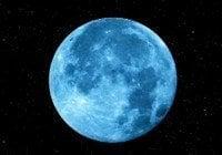 Esta noche se observará la «luna azul», un raro evento cósmico