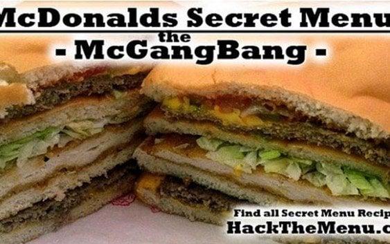 Menús secretos de McDonald's: entre ellos, hamburguesa de 890 dólares