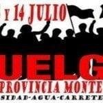 Convocan paro de labores mañana en Monte Plata