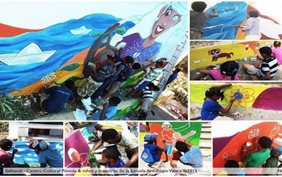 Muralismo comunitario: visiones plasmadas en colectivo
