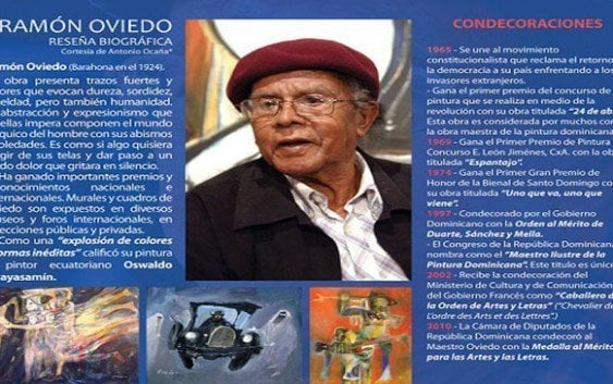 Fallece laureado pintor dominicano