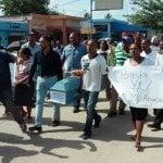 Marchan para denunciar la corrupción y el macuteo