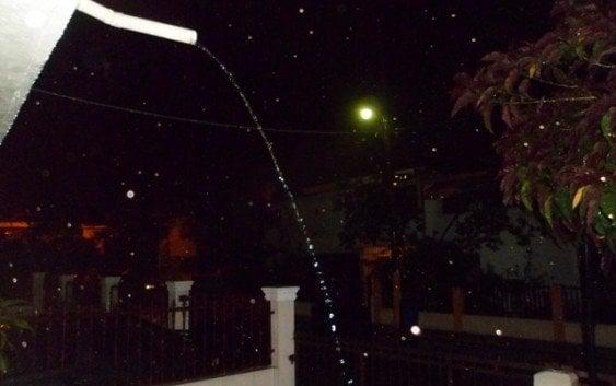 Buena noticia: Torrencial aguacero en la capital dominicana