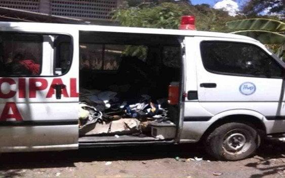 Ambulancia hospital municipal Altamira murió
