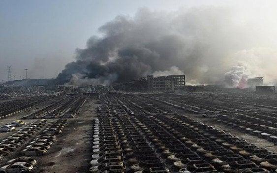 Explosion en China deja decenas de muertos y cientos de heridos