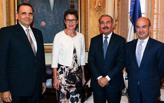 Presidente recibe ejecutivos de Citigroup para Latinoamérica