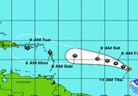 Danny se convirtió en el primer huracán
