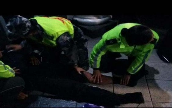Varios policías heridos en manifestaciones de Ecuador