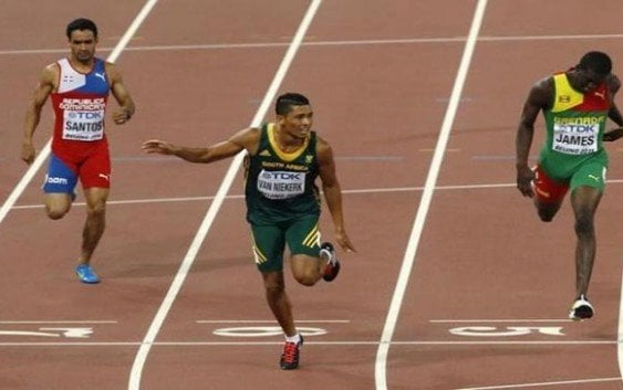 Luguelin Santos llega cuarto en Mundial de Beijing