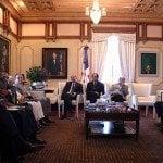 Presidente recibe Comisión Rescate Ríos Ozama e Isabela