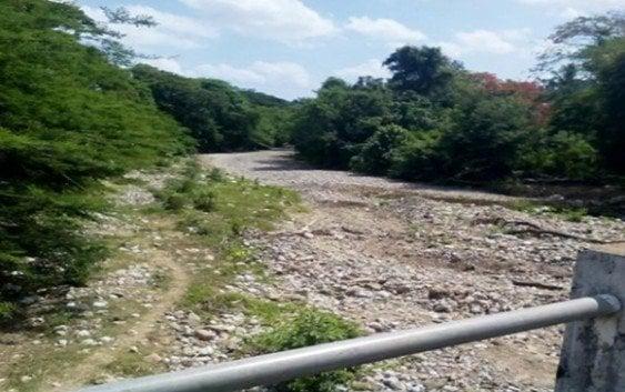 Ríos parte oeste Puerto Plata completamente secos