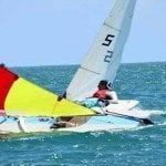 40 veleristas en Regata Barahona Palito Seco 2015